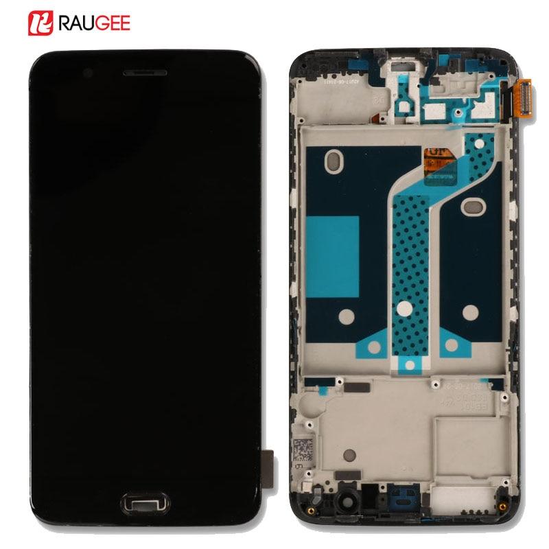 Oneplus 5 LCD Tela de Alta Qualidade New Substituição One plus 5 Display LCD + Touch Screen Com Frame para Oneplus 5 cinco 5.5 polegada