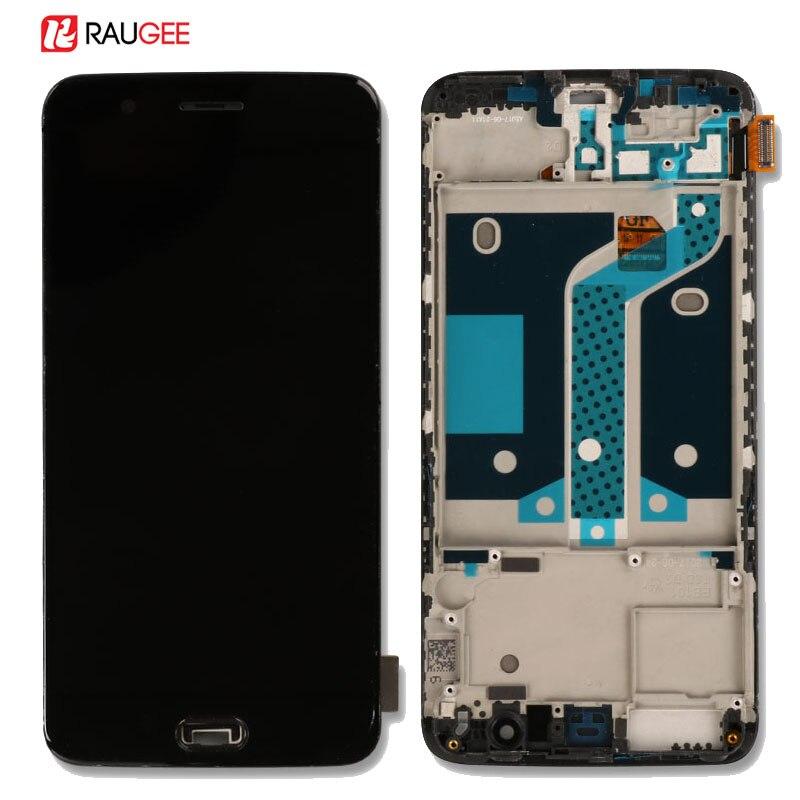 Oneplus 5 ЖК-дисплей Экран Высокое качество Новый замена один плюс 5 ЖК-дисплей Дисплей + Сенсорный экран с рамкой для Oneplus 5 пять 5,5 дюйма