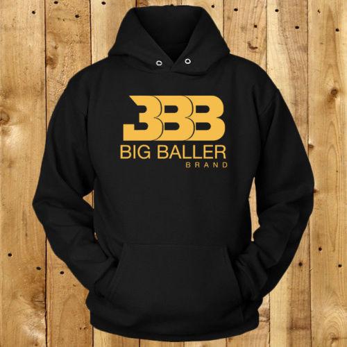 095d19da3 BBB Yellow Big Baller Brand Logo Men's Black Hoodie-in Hoodies & Sweatshirts  from Men's Clothing on Aliexpress.com   Alibaba Group