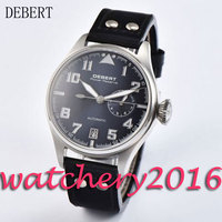 Casual 42mm Debert blue dial date adjust Power Reserve Automatic movement Men's Watch