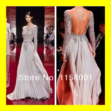 Gown Evening Dress New York Dresses Online Elegant With Sleeves Size