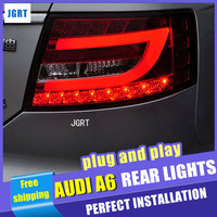 car styling For Audi A6 taillight assembly 2005 2008 for A6 rear lights dedicated car light led taillight light with 2pcs.