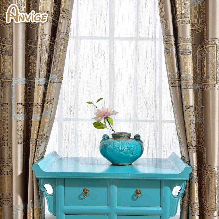 Aliexpress Anivge Luxury European Blackout Curtains For