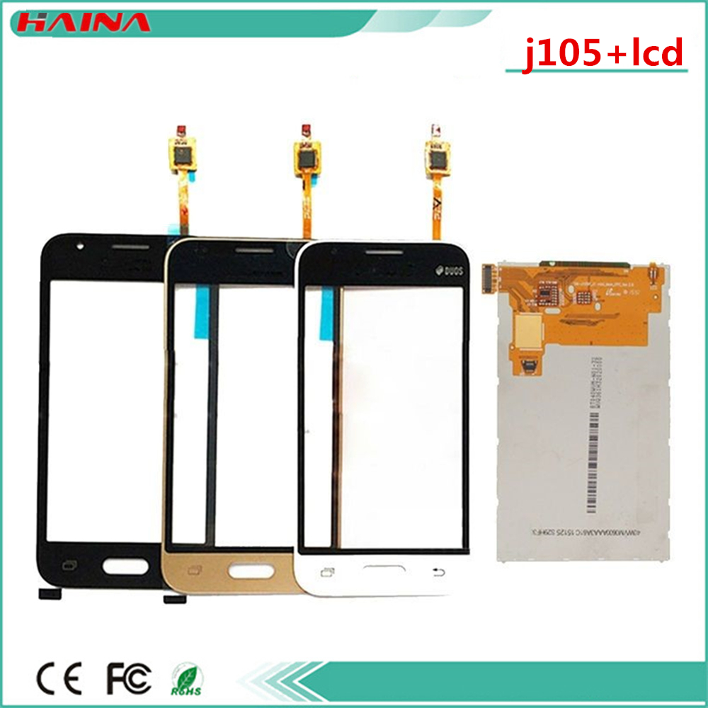 New <font><b>lcd</b></font> For Samsung Galaxy J1 Mini Prime J106 J106F J106DS SM-J105F <font><b>J105</b></font> J1 mini Seperate <font><b>LCD</b></font> Display and Touch Screen with tape image