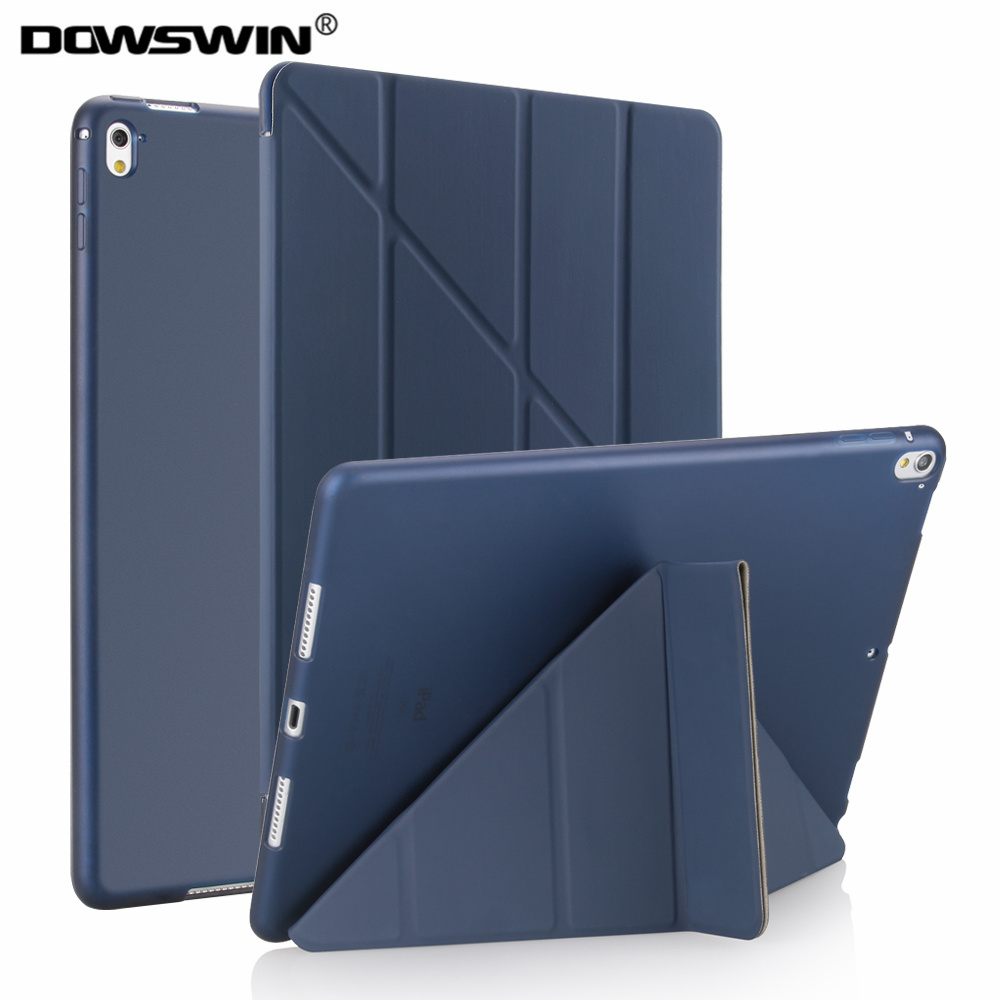 for pro 9.7 inch case,Dowswin smart Yippee color for ipad pro 9.7 case,tpu silicone soft case can stand 11-fold for ipad pro 9.7 drill buddy cordless dust collector with laser level and bubble vial diy tool new