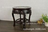 [Rain] Zhong Redwood Redwood crafts fish tank stand bonsai African ebony frame flowers frame