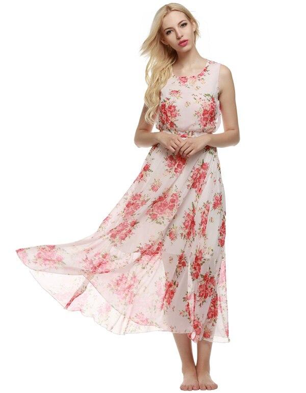 ღ ღACEVOG Women Brand 2017 Sleeveless Elastic Casual Summer Beach ...