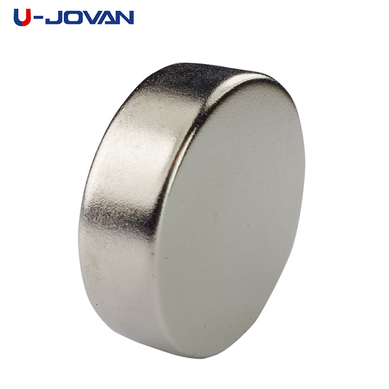 U-JOVAN Powerful Super Strong Permanent Magnet 30 X 10 Mm N35 Small Round Rare Earth Neo Neodymium Magnet