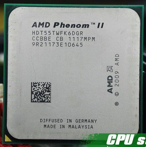 Livraison Gratuite AMD Phenom II X6 1055 T 95 W CPU processeur 2.8 GHz AM3 938 Processeur Six-Core 6 M De Bureau CPU scrattered pièces