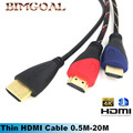 HDMI Cable HDMI to HDMI cable HDMI 1.4 4k 3D  Cable for HDTV LCD Laptop PS3 Projector Computer Cable 1m 2m 3m 5m 8m 10m 15m 20m