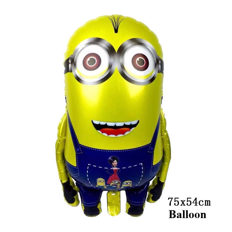 Baby Boy 1st Birthday Gifts Minion Cake Topper Decoration Toys For Boys Kids Children