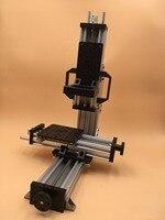 CNC Micro Мельница minimill механические Комплект 3 оси Модульная Машина не собрать