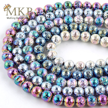Natural Hematite Lava Stone Round Beads For Jewelry Making 4/6/8/10mm Volcanic Rock Spacer Beads Diy Bracelets Necklace цена 2017