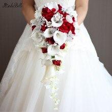 Hochzeit Brosche Braut Wasserfall