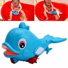 Whale Squirting Baby Kids Bath Toy Water Play Plastic Swimming Amphibious  #T026#