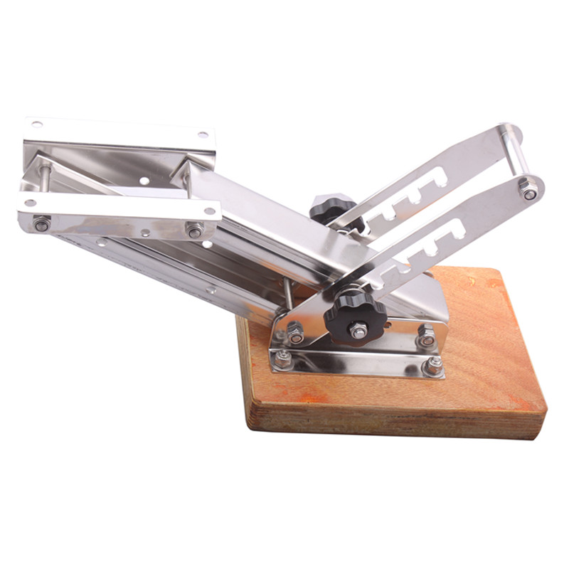 Boat accessories marine Stainless steel 2 Strokes Kicker Outboard Motor Bracket Heavy Duty for Marine Boat motor bracket kicker 25hp mount stainless steel heavy duty outboard motor bracket boat yacht