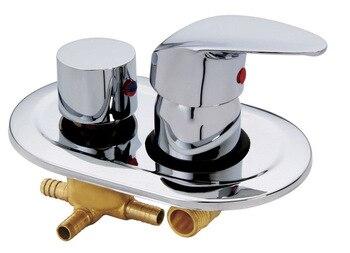 2/3/4/5 Weise Wasser Outlet Dusche Misch Ventil, Kalt-und Warmwasser Schalter Ventil Puffer-typ, Dusche Wasserhahn Kostenloser Versand