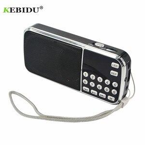 Image 2 - Kebidu החדש L 088 נייד HIFI מיני רמקול MP3 אודיו מוסיקה נגן פנס מגבר מיקרו SD TF FM פנס רדיו