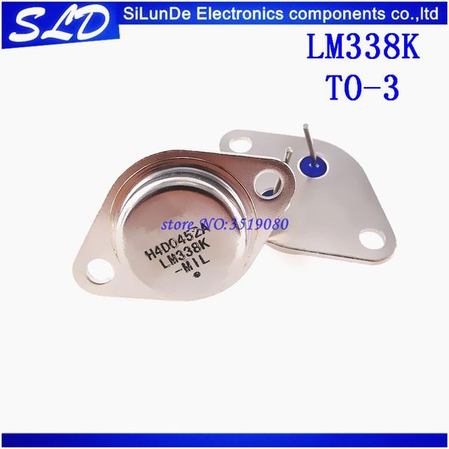 Régulateur de tension réglable 5A LM338K LM338, 1.2V à 32, 10 pièces/lot, livraison gratuite, neuf et original, en stock