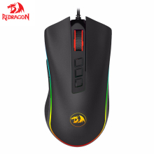 Redragon COBRA M711 Chroma Wired Gaming Mouse 16.8 Million RGB Color Backlit 10000 DPI 9 Buttons Optical LED PC lol