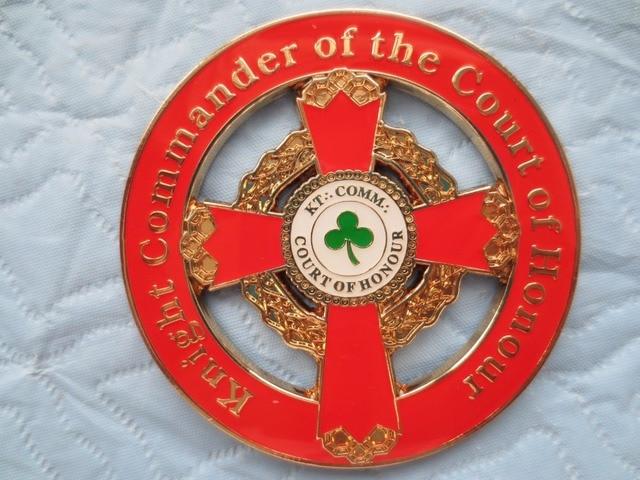 Emblème de voiture masonique   Badge de