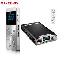 2016 New Portable XDuoo X3 Hifi Music MP3 Player XD 05 Audio DAC Headphone Amplifier AMP
