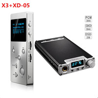 2016 New Portable XDuoo X3 Hifi Music MP3 Player XD 05 Audio DAC Headphone Amplifier AMP