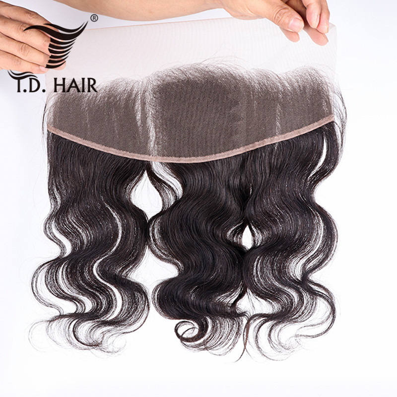Hot Selling Remy Human Hair Wavy Body Wave Lace Frontal Closure Ear To Ear 13x4 Pre Plucked