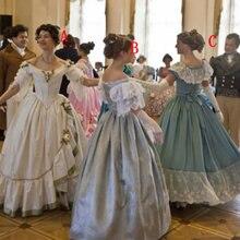 SC-1009 викторианское готическое/винтажное платье на Хэллоуин театральное платье на заказ