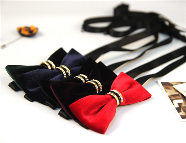 New Black/Red/Purple/Green/Blue Solid Colors Butterfly Bow Tie Wedding Tuxedo Dress Upscale Mens Boys And Girl Unisex Bowties