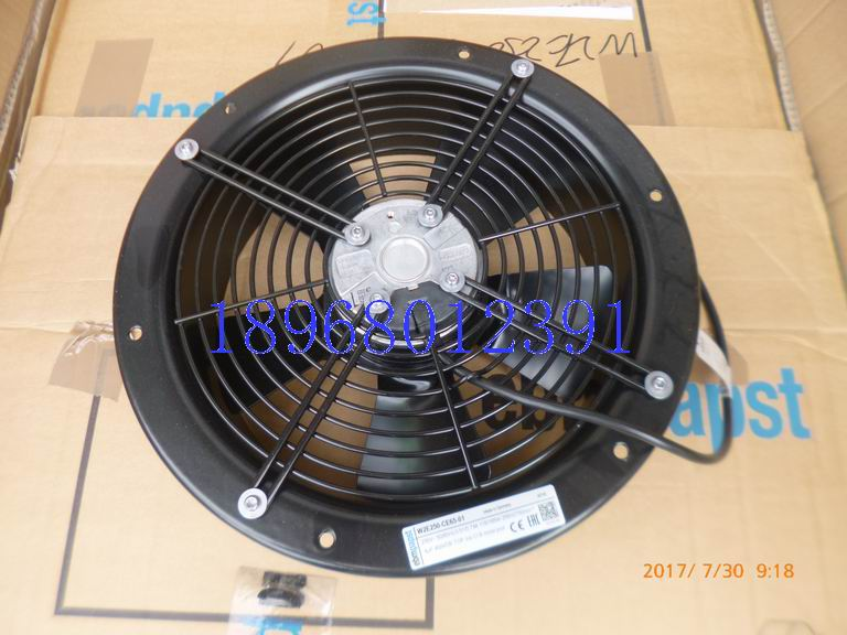 New original EBM-PAPST W2E250-CE65-01 230V 50 / 60HZ axial fan new original ebm papst 9906l 9906 l ac 115v 120ma 100ma 9w 8w 120x120x25mm axial cooling fan