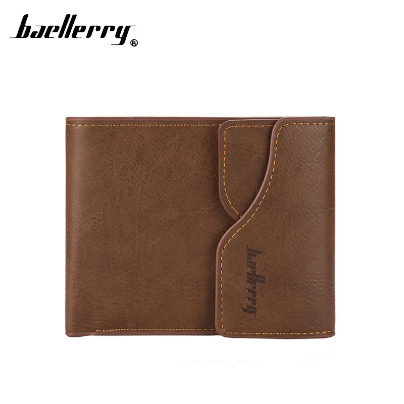 Baellerry Small Short Men Wallet Male Purse Cuzdan For Money Card Holder Baellery Slim Walet Perse Vallet Portomonee Carteras