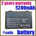 JIGU k50in 6 ячеек Батарея Для Asus F82 K40 K50 K51 K60 K61 K70 P81 X5A X5E X70 X8A А32-F52 A32-F82 L0690L6 L0A2016 k50ij