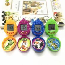 1 Pcs funny dinosaur egg electronic Pets novelty Toys Pets in One Virtual Cyber Pet Toy Handheld Game(China)
