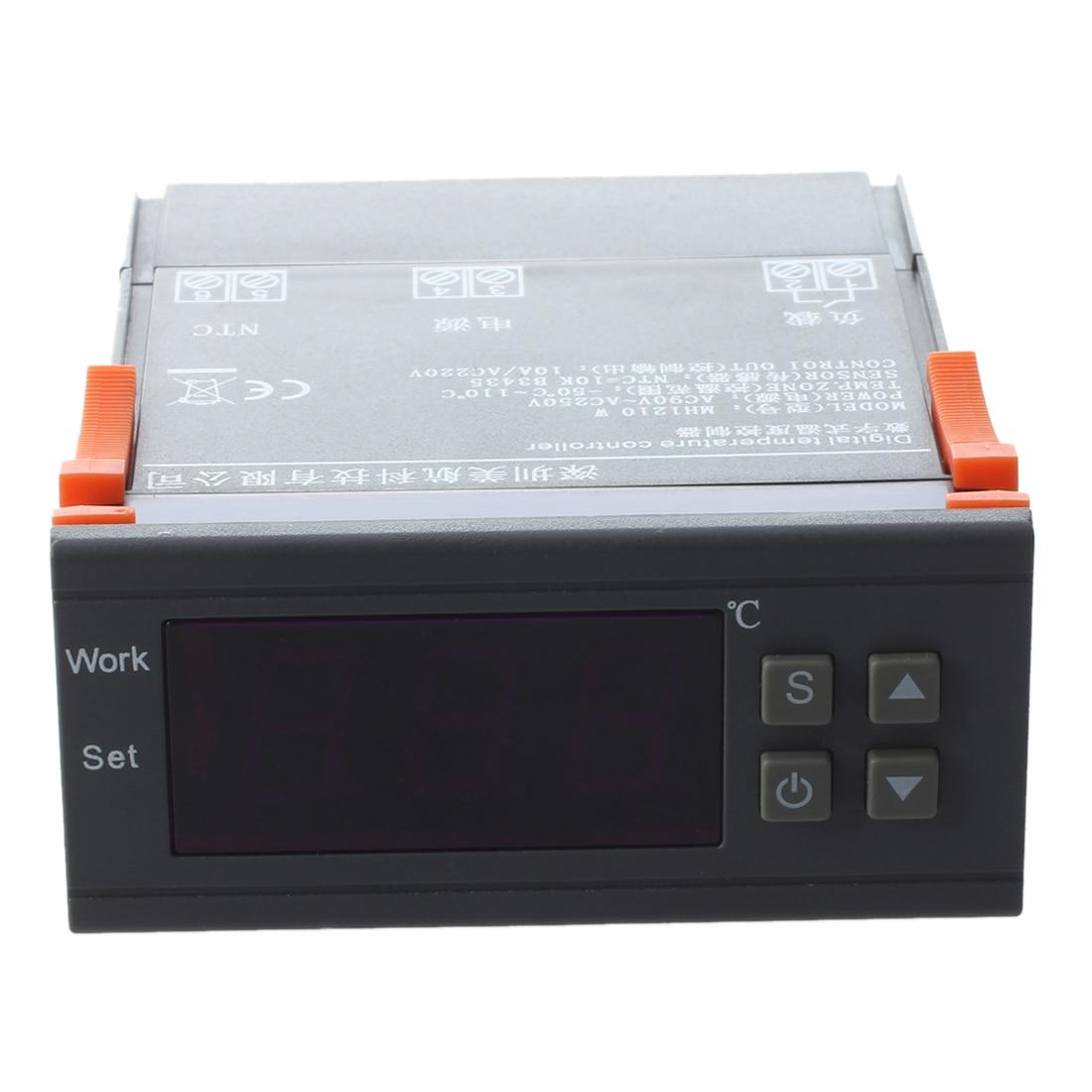 AC 90 В-250 В MH1210W цифровой Температура контроллер экрана