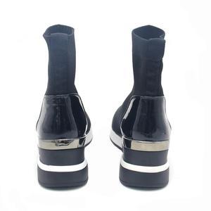 Image 5 - 新ファッションカジュアルシューズ女性快適な通気性メッシュソフト唯一の女性のプラットフォームスニーカー女性chaussureファムバスケットファム