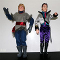 1pc/Lot Best Christmas Gifts Kristoff and Hans Dolls Toys Prince Olaf Girl Doll Hans Kristoff Full Joint Moveable 30cm