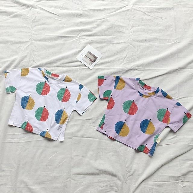 df84b86f1 EnkeliBB 2018 Bobo Choses Design T shirt For Boys and Girls Fashion ...
