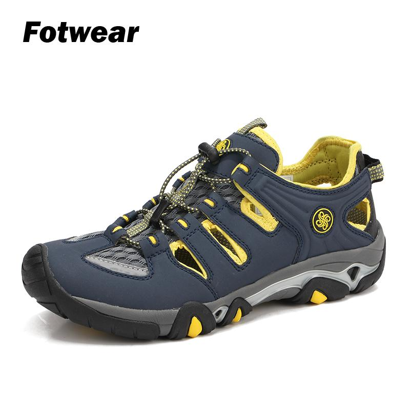 New Fashion Fotwear Mens Outdoor Sandals Casual Shoes Men Lightweight Durable Sandals Reliable Traction Both In And Out Of Water Multi-lug Men's Shoes