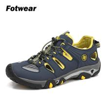 Fotwear Mens Outdoor sandals casual shoes Men Lightweight Durable Reliable traction both in and out of water Multi-lug