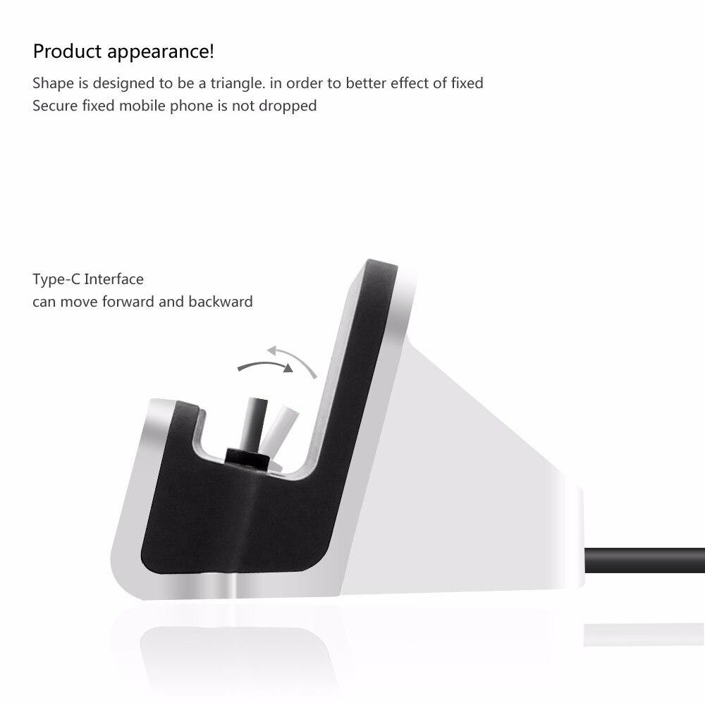 כבל נתונים מסוג C UCB dock מטען כבל שולחן העבודה טעינת Dock עבור huawei LeTV Xiaomi Lumia תחנת עגינה טיפו סי מטען לטלפון
