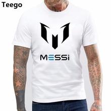 b31df82cc0 Barato nuevo verano MESSI T camisa de los hombres Barcelona MESSI Tt camisa  MESSI camiseta homme botín Tops camiseta adulto Fans.