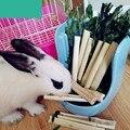Маленькие домашние животные, натуральные милые жевательные игрушки из бамбука, здоровые закуски для кроликов, морских свинок, Шиншилла, бел...