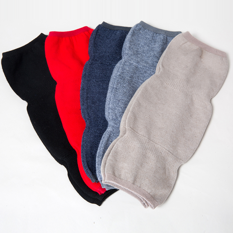 Cashmere Wool Knee Pads Sleeves Autumn Keep Warmer Thin Long Knee Sleeve For Women Men Old Men Winter Sports Free Shipping