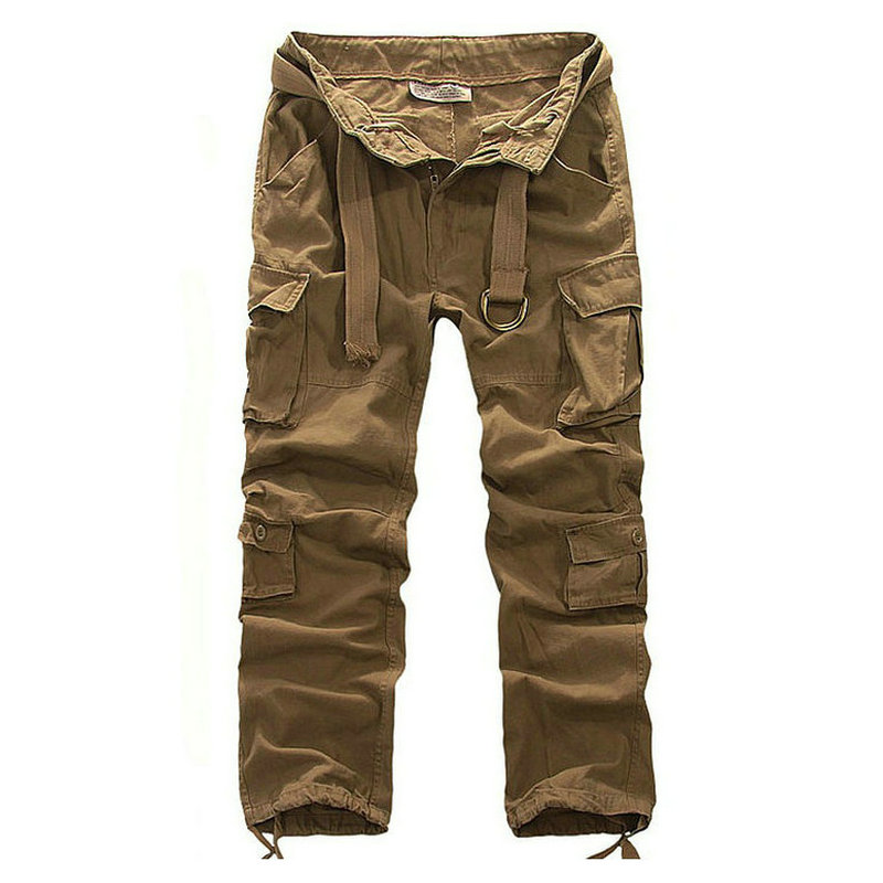 New Fashion Casual Pants Men Summer Army Military Style Trousers Men's Tactical Cargo Pants Drop Shipping ABZ114