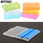 JETTING 1Pcs Battery Storage Box Batteries 18650 Li-Ion Container Organizer Cases Candy Color