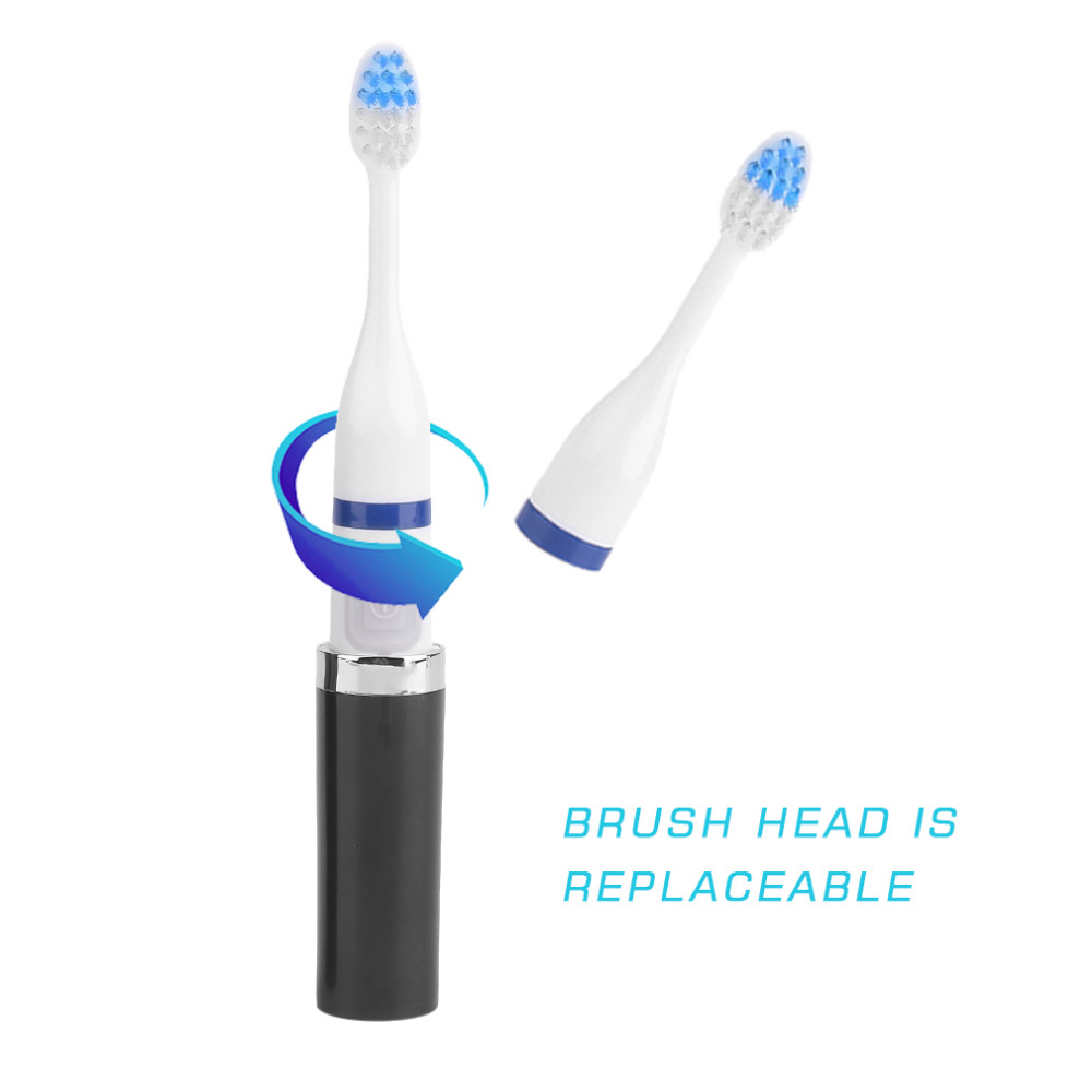 2017 Newest Pro Electric Toothbrush Oral Hygiene Anti Slip Handle Electric Toothbrush with 2 Soft Bristles Brush Heads 2pcs philips sonicare replacement e series electric toothbrush head with cap