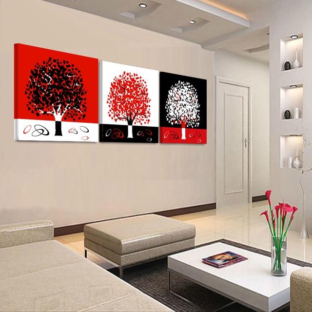 Top Sans cadre 3 Pcs Toile Peinture HD Modulaire Photos Mur Art  IN06
