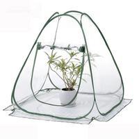 PVC Warm Garden Single Tier Mini Household Plant Greenhouse Cover Waterproof Anti UV Protect Garden Plants Flowers