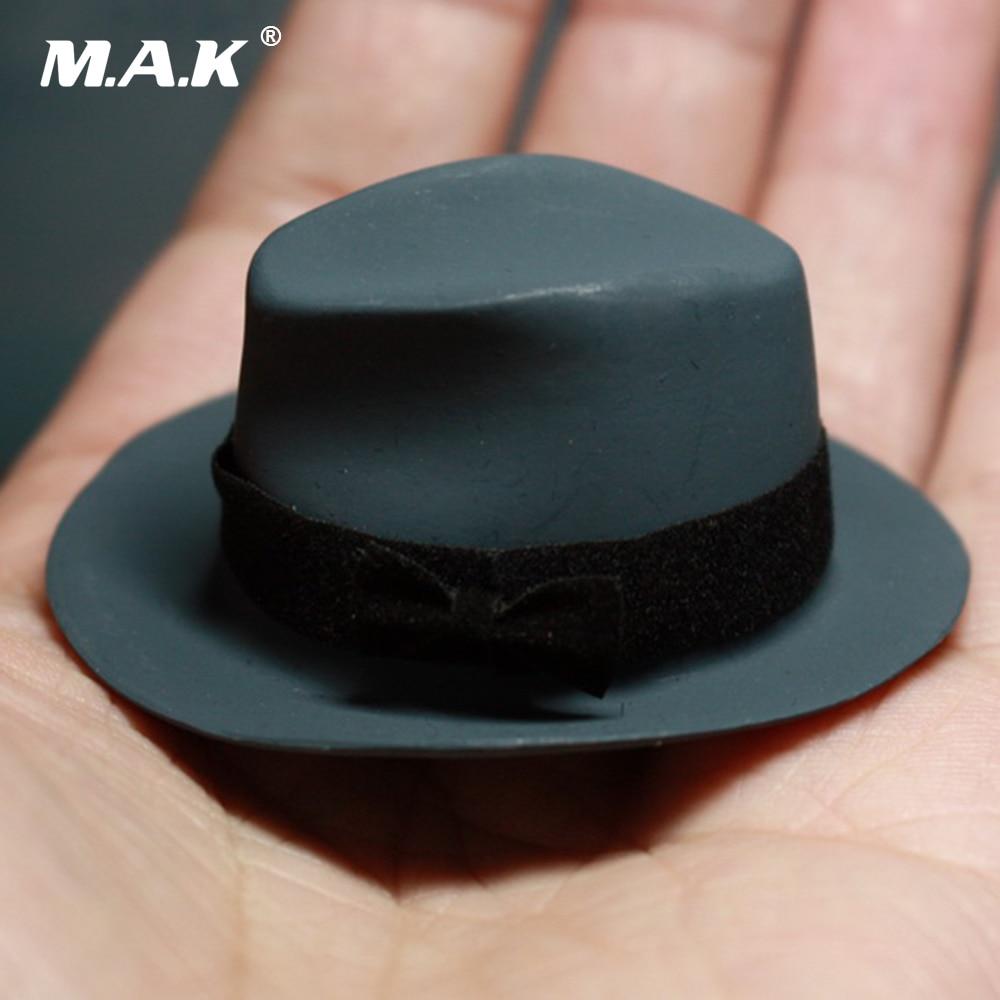 1//6 Scale Black Combat Hat